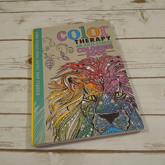 Running Press Other Color Therapy An Antistress Coloring Book Poshmark